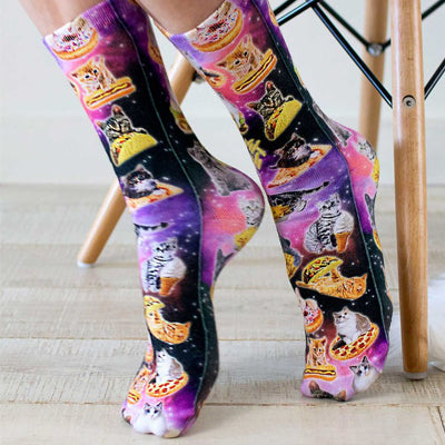 Cat Cravings Crew Socks