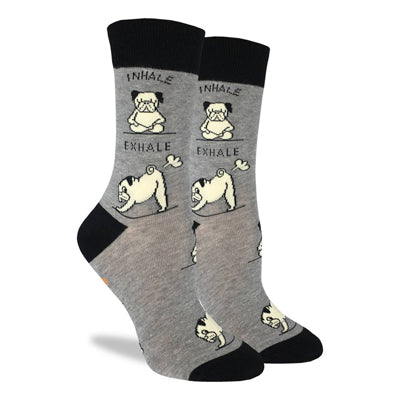 Yoga Pug Socks