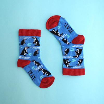 Kid's Penguin Socks