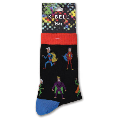 Boy's Super Heroes Crew Socks