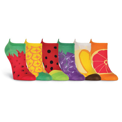 Women's Fruit 6 Pair Pack Socks