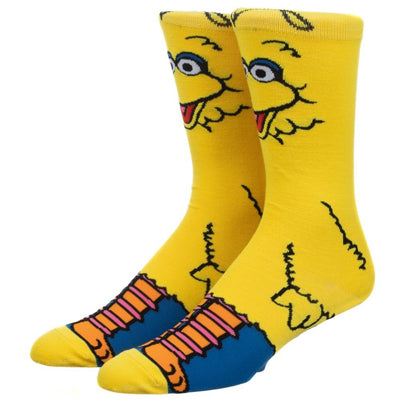 Big Bird 360 Character Crew Socks