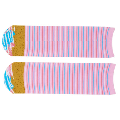 Cupcake Socks - Cotton Candy