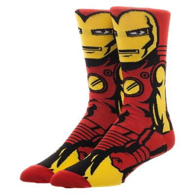 Marvel Iron Man 360 Character Crew Sock