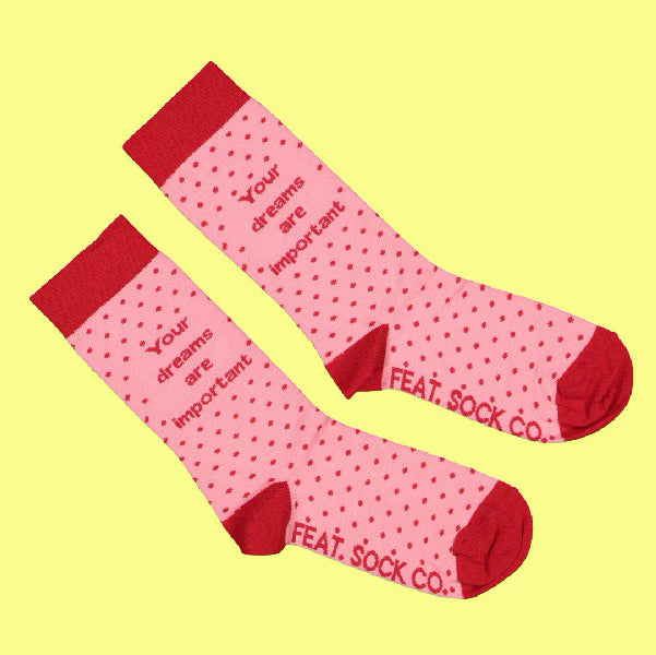 Your Dreams Are Important Socks