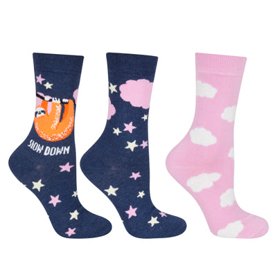 Women's Socks With History, 2 pairs