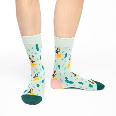 Hula Girls Socks