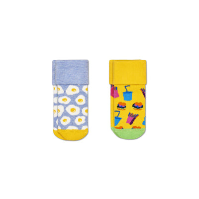 2-Pack Brunch Terry Socks