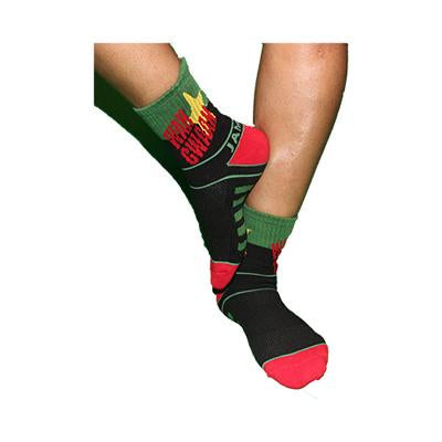Wah Gwaan Star Quarter Length Socks