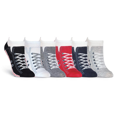 Women's Sneaker Sock 6 Pair Pack Socks