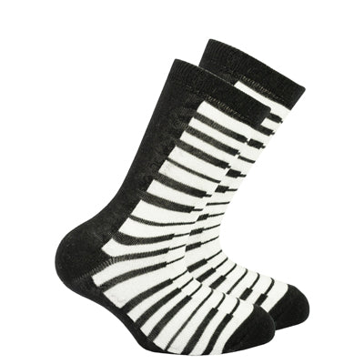Kid's Piano Crew Socks