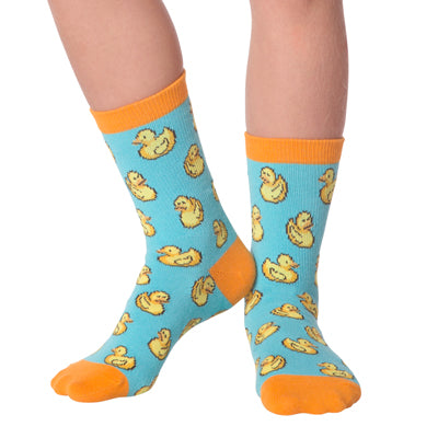 Kid's Rubber Ducks Crew Socks