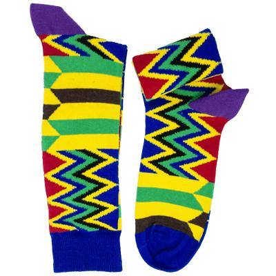 Kubolor Kente Socks