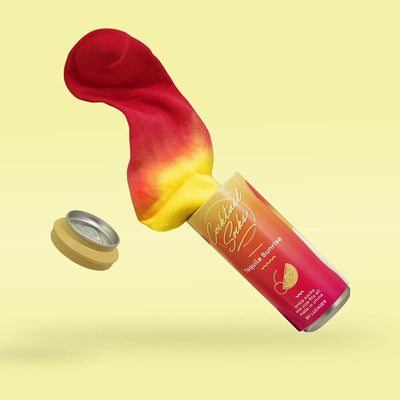 Cocktail Socks - Tequila Sunrise