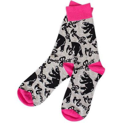 Mama Bear Preppy Sock by Simply Southern