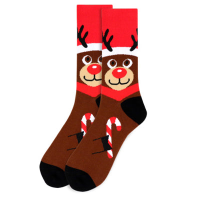 Men's Rudolph Novelty Socks