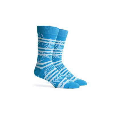 Men's Cruise Blue Multi Crew Socks