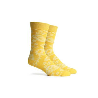 Men's Devon Yellow Multi Crew Socks