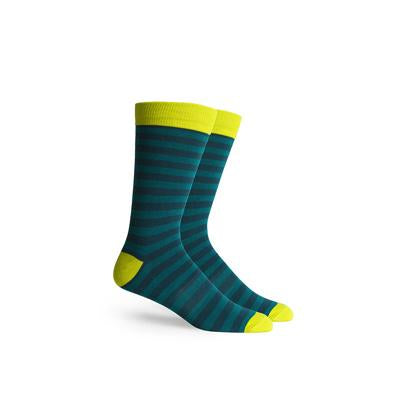 Men's Theo Teal Crew Socks