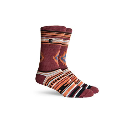Men's Arlo Brown Crew Socks