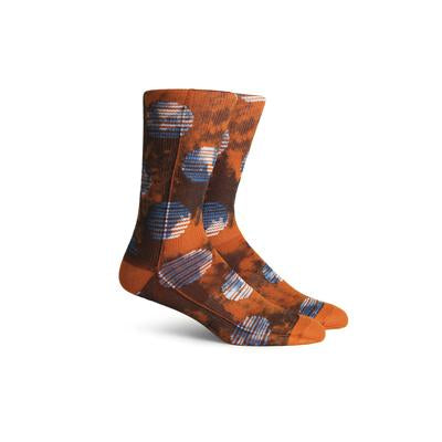 Men's Biggs Orange Crew Socks