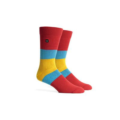 Men's Chief Red Yellow Crew Socks