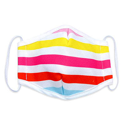 Reusable Face Mask Beach Stripe