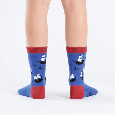 Ship Shape Junior Crew Socks