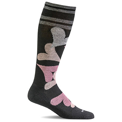 Women's Love Lots Moderate Graduated Compression Socks
