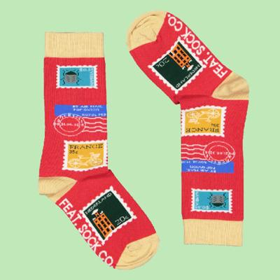 Men's Stamp Collection Socks
