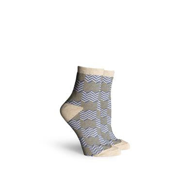 Women's Tidal Oatmeal Ankle Socks