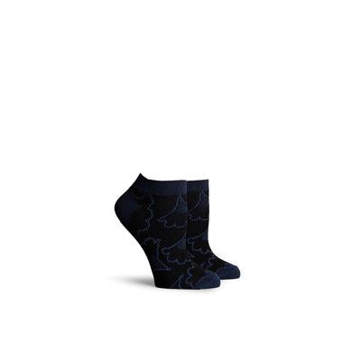 Women's Flora Navy Low Top Socks