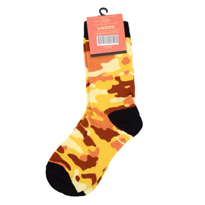 Women's Color Camouflage Socks