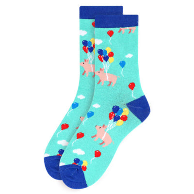 Women's Pig Novelty Socks