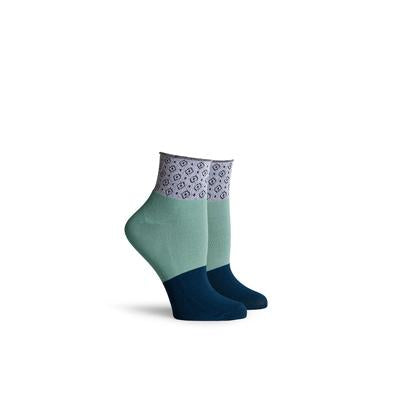 Women's Celina Navy Ankle Socks