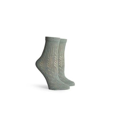 Women's Native Grey Ankle Socks