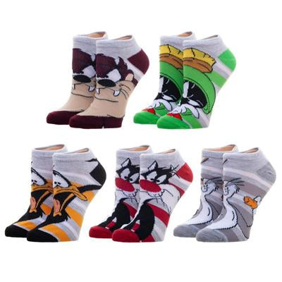 Looney Tunes 5 Pack Ankle Socks