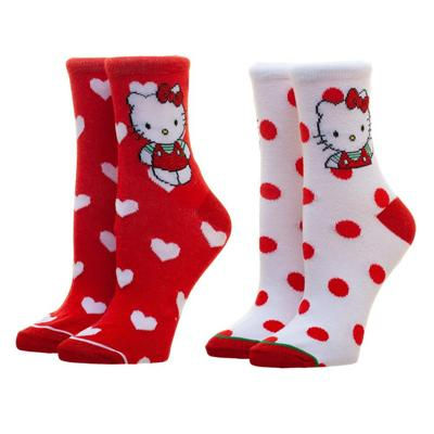Hello Kitty 2 Pack Anklet Socks