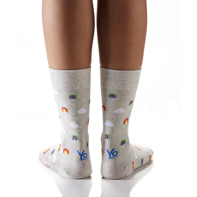 Teeny Tiny Rainbows Women's Crew Socks