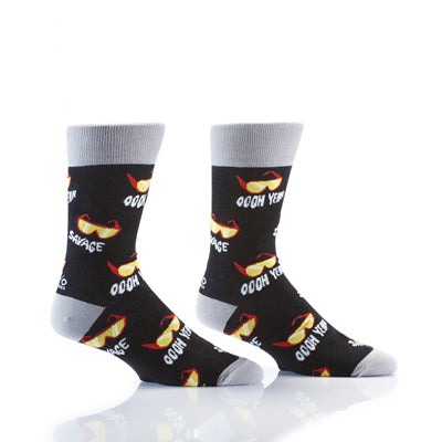Vintage Macho Men's Crew Socks