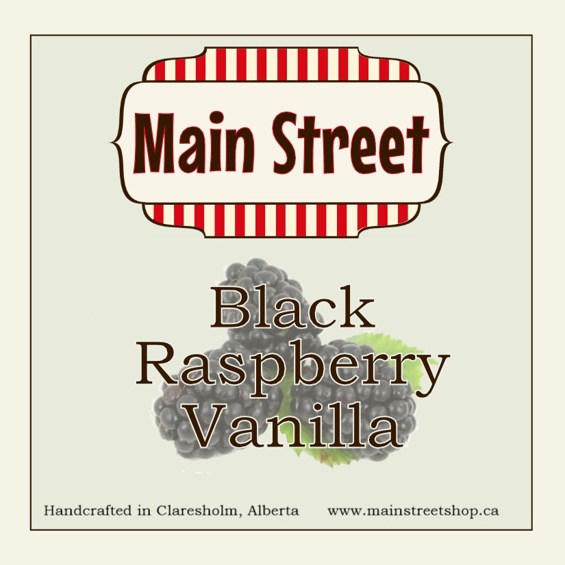 8 oz Black Raspberry Vanilla Soy Candle