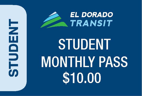 Student K-12 Local Monthly Pass