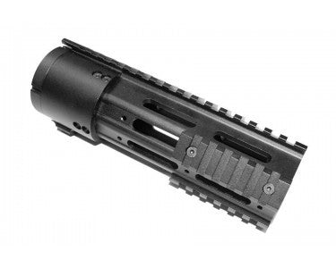 "7"" Thin Profile Free Floating Handguard With Removable Rails & Monolithic Top Rail - 102 Tactical"