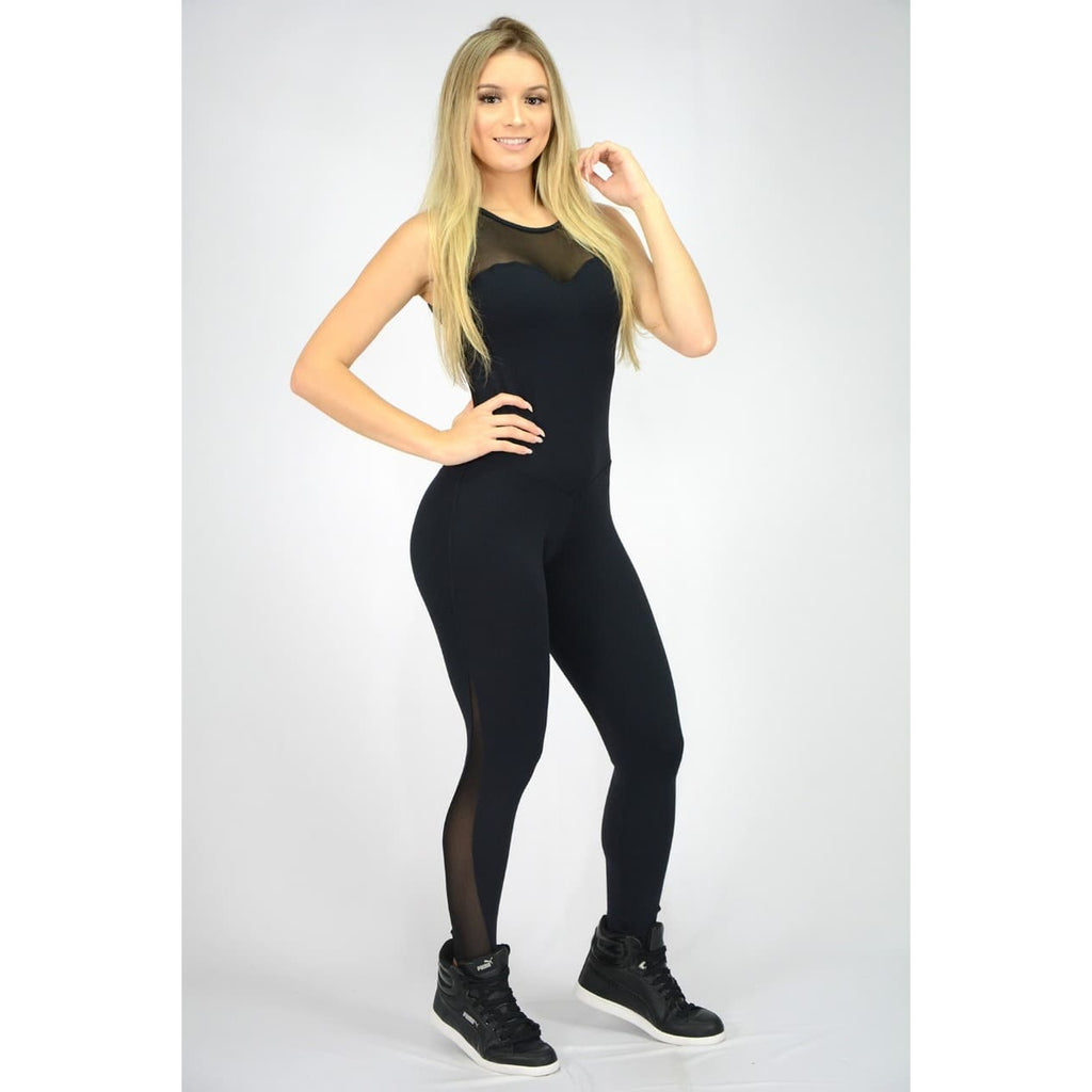 Aphrodite Black Jumpsuit