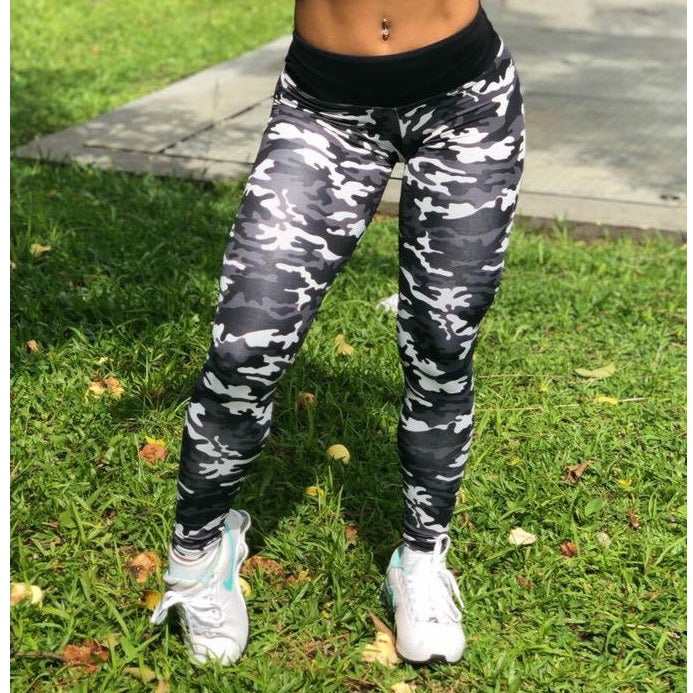 Camo High Waisted Leggings