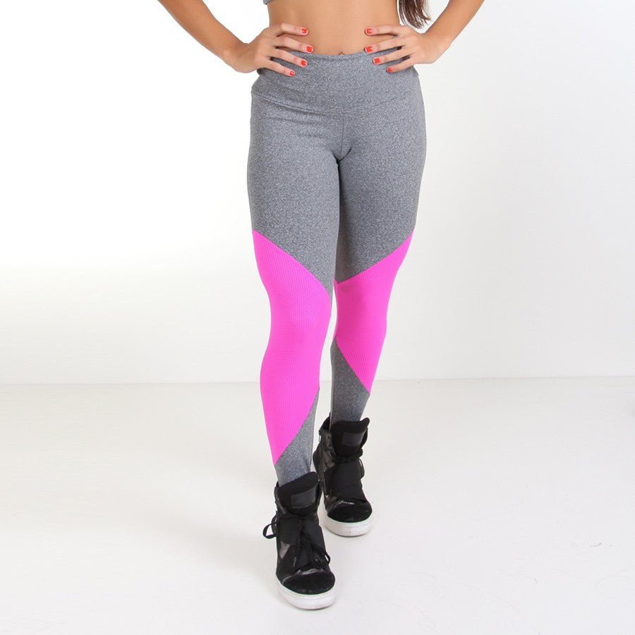 f765baa71ea7f Grey and Pink Workout Leggings – Rio Fitness Wear