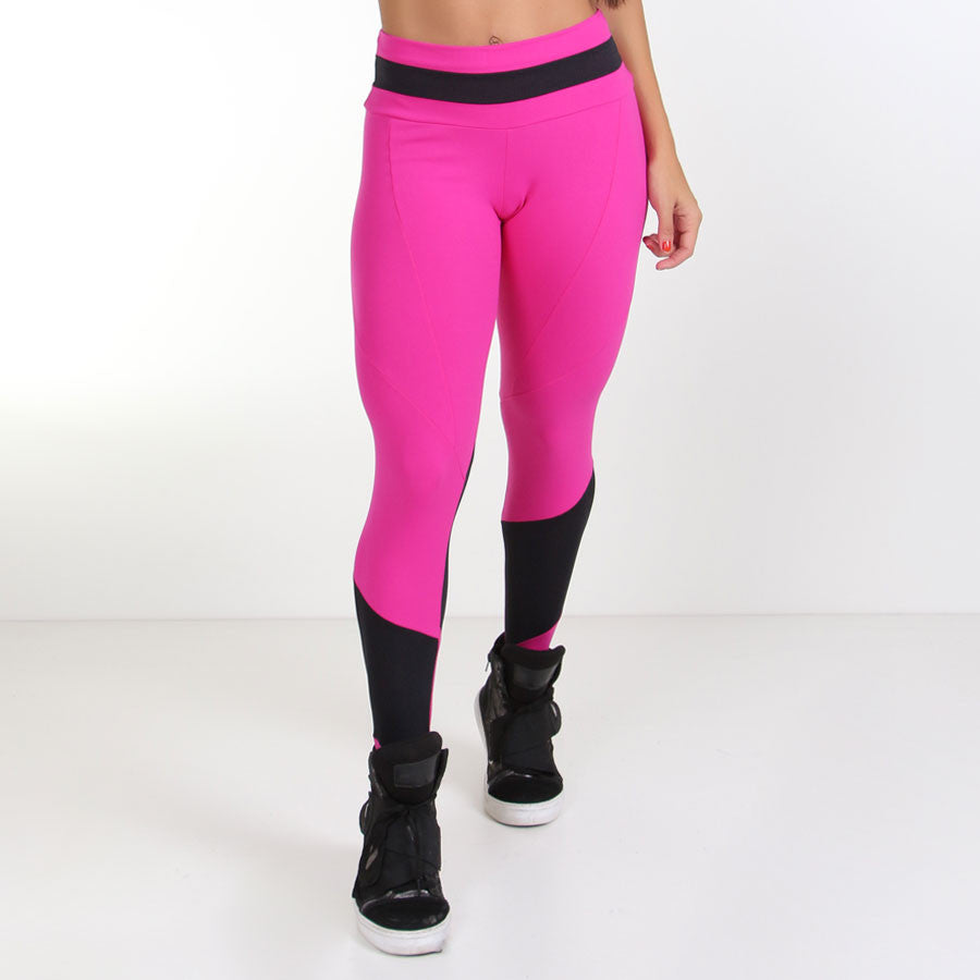 Pink Fuso Nili Leggings