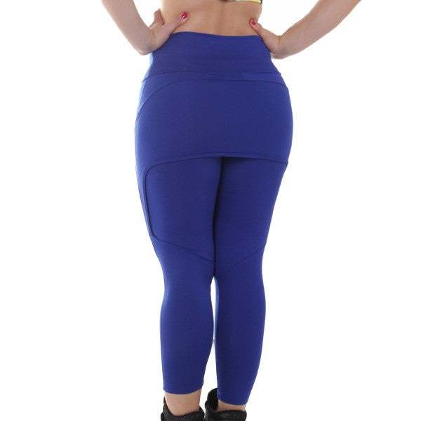 Skirted Leggings Blue