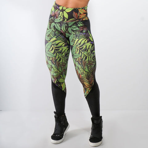 Brigida Print Leggings High Waist