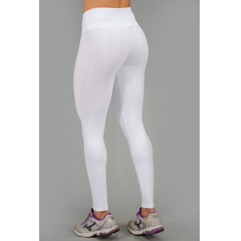 White High Waist Leggings